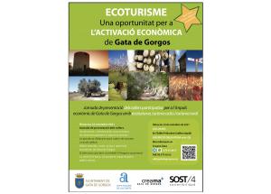 Jornada de presentación de los TALLERES PARTICIPATIVOS PARA El IMPULSO ECONÓMICO DE GATA con ecoturismo, turismo activo y turismo rural.