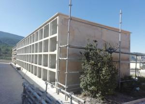 El Cementerio Sant Antoni Abat se amplía en 128 nichos más