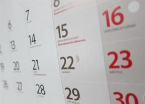 El calendario laboral para 2018 recoge 12 días festivos, 10 comunes en toda España