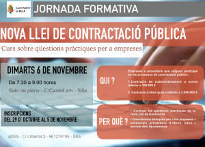 Curso sobre cuestiones prácticas de la nueva Ley de contratación pública