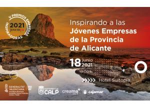 V Premios Empresas Inspiradoras organizado por Jovempa con la colaboración del Ayuntamiento de Calp y Creama-Calp.