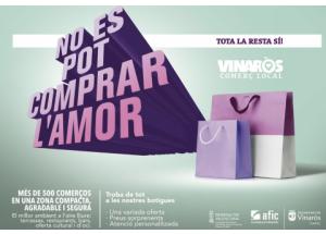 "Presentada la campaña de promoción del comercio local ""No es pot comprar l'amor, per a la resta està el comerç local de Vinaròs"""
