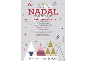 Benicarló comenzará la Navidad con la encendida del alumbrado y el tradicional mercado navideño