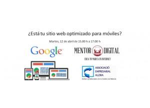 JORNADA 12/04/16 ¿Está tu sitio web optimizado para móviles?