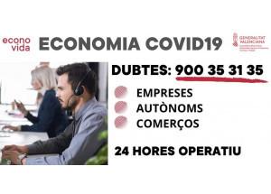 TELÈFON D'ASSITÈNCIA A EMPRESES, COMERÇOS I AUTÒNOMS