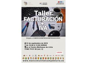 TALLER FACTURACIÓN + IVA