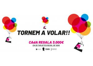CAdA regala 30 tarjetas regalo de 100 euros cada una