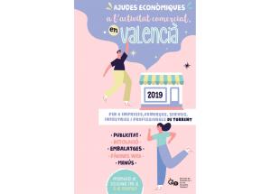 AYUDAS PARA LA ACTIVIDAD COMERCIAL EN VALENCIANO 2019