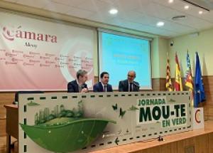 El Conseller de Política Territorial, Obras Públicas y Movilidad Arcadi España inaugura la jornada Mou-te en Verd en Alcoy