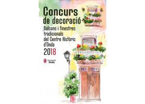 Concurso de decoración de balcones y ventanas tradicionales del Centro Histórico de Onda 2018