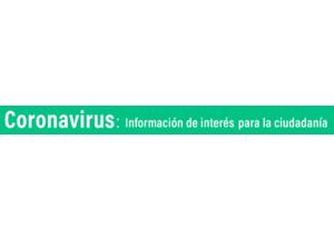 enlace de la página web municipal con la información sobre el coronavirus.(COVID19)
