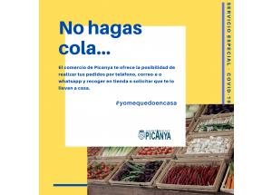 Comercios de Picanya con servicio especial - COVID-19