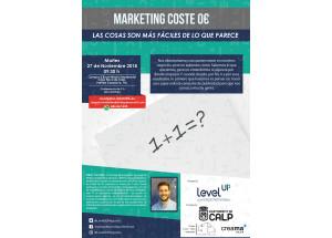 Conferència: Màrqueting cost 0