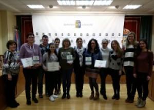 Benicarló.La papereria Raquel Papers guanya el Concurs d'Aparadors de Nadal
