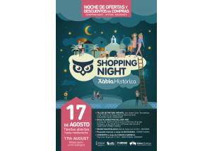 El viernes 17 de agosto, segunda noche de compras en el Centro Histórico de Xàbia