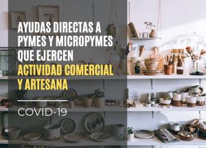 COVID19 Concesión de ayudas directas al comercio y la artesanía para hacer frente a la Covid-19