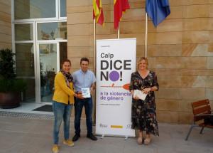 La Asociación de Empresarios de Calp se adhiere a la campaña Calp dice No! a la violencia de género