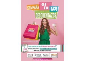 LA ASOCIACIÓN DE COMERCIANTES DE QUART DE POBLET (ACQ), LANZA LA CAMPAÑA DESCUENTAZOS.