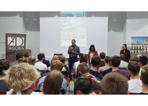 Recepció per part de l'Ajuntament a més de 40 alumnes i professors de Dinamarca