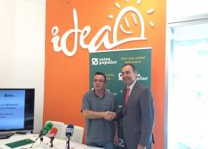 Alzira firma un Convenio con Caixa Popular de apoyo a los proyectos emprendedores