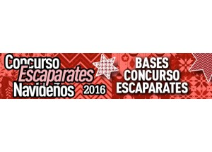 CONCURSO DE ESCAPARATES DE NAVIDAD 2016
