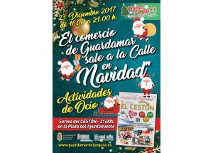 EL COMERÇ SURT Al CARRER PER NADAL 23 DE DESEMBRE 2017 TARDA